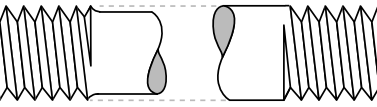 Pitch Diameter (left), Nominal Diameter (right)