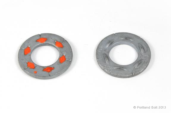 Load Indicating Washers : Dti washers with a bolts portland bolt