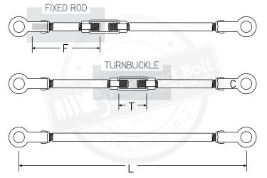 Tie Rod Assembly Tie Rods Tie Rods ...  sc 1 st  Portland Bolt & Tie Rods - Portland Bolt
