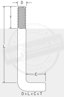 90 176 Anchor Bolt Portland Bolt