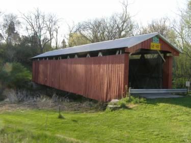 Stevenson Road Covered Bridge