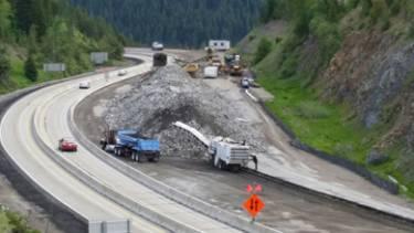 I-90 Mullan to Montana