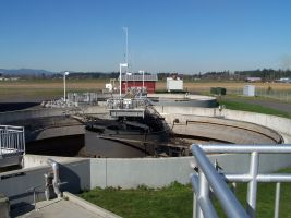 Centralia wastewater treatment plant