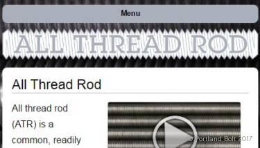 All Thread Rods - Portland Bolt