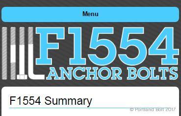 Astm F1554 Portland Bolt