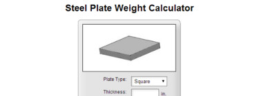 Plate Weight Calculator