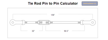 Tie-Rod Calculator