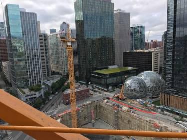 Seattle Crane Tie-In