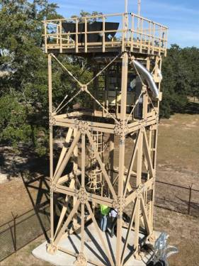 30 Foot Tall Support Tower